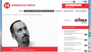 Social Media for Business — interview with Imagens de Marca