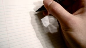 The blank page: a writer's nightmare or the stuff of dreams… you decide